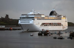 MSC Lirica makes her first visit to the Tyne