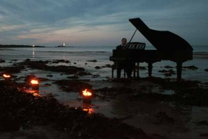 Piano Concerto - on Whitley Bay beach!