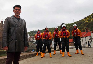 ace, bhatti, actor, rnli, staithes, runswick, lifeboat, bill, eastenders