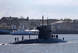 HNLMS Walrus visits the Tyne. Picture by Adrian Don - ElectricPics Photography