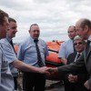 Duke of Kent visits Northumbrian RNLI lifeboat stations
