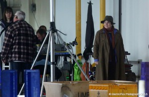 Brenda Blethyn, who stars as DCI Vera Stanhope in the hit ITV drama Vera, seen during the filming of the latest series at North Shields Fish Quay.