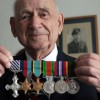 WW2 Veteran Flt Lt John Hall DFC, 91, from Grindon, Sunderland, who survived 60 bombing missions over Europe as a Lancaster bomber tail gunner and went on to become a Flight Lieutentant after being awarded the Distinguished Flying Cross personally by King George VI. John is now helping local youths.